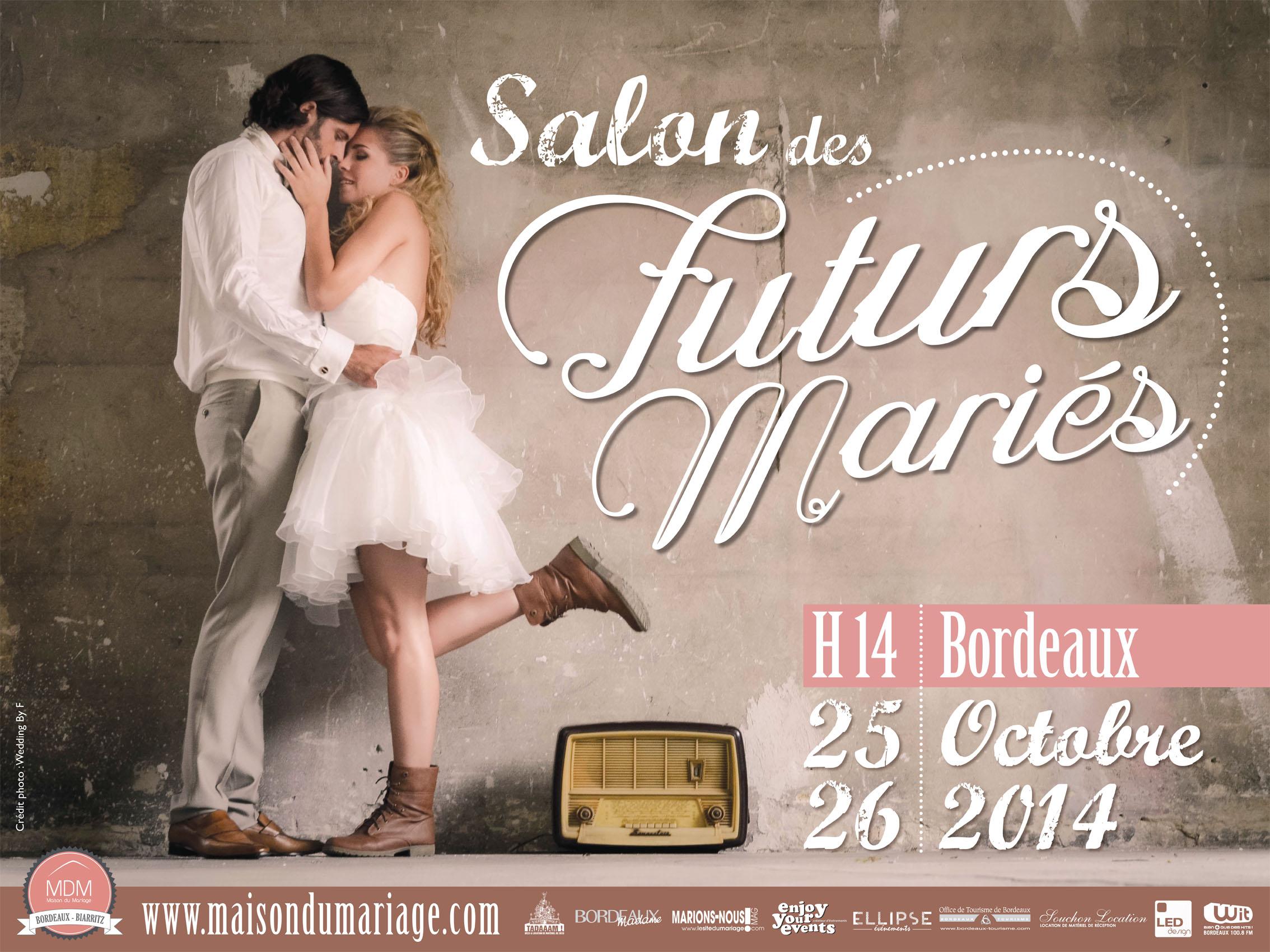 Laorida sera au Salon des Futurs Mariés le 25 & 26 octobre !